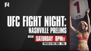 Download UFC Fight Night Nashville Prelims, Pre & Post-Show LIVE Sat., April 22 at 7 p.m. ET on FN Video