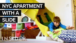Download Inside A $7 Million NYC Kid's Dream Home With A Zipline And Slide | Dream Digs Video