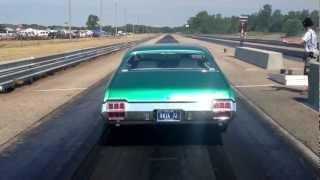 Download 1972 Olds Cutlass 442. Runs 11's with a passenger. Video