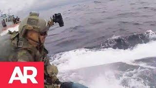 Download Intensa persecución de la Guardia Costera de EE.UU a un semisumergible Video