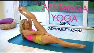 Download Ashtanga Yoga: Supta Padangusthasana with Kino Video