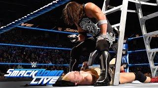 Download James Ellsworth vs WWE World Champion AJ Styles- Contract Ladder Match: SmackDown LIVE, Nov 22, 2016 Video
