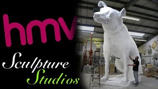 Download Nipper the Giant HMV Dog by Sculpture Studios Video