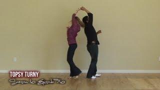 Download Salsa Dancing Topsy Turny Move Video