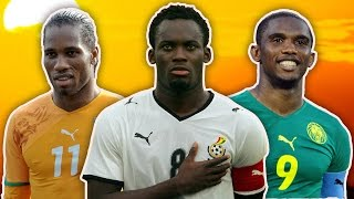 Download Greatest African Footballers XI   Drogba, Essien, Eto'o! Video