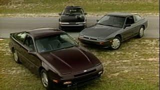 Download 1989 Nisasn 240SX-SE vs. Laser RS Turbo vs. Probe GT   Retro Review Video