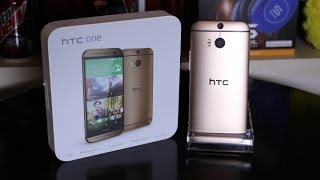 Download HTC One M8 Unboxing (AMBER GOLD EDITION) Video