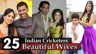 Download Indian Cricketers Wife - 25 Beautiful Wives Of Indian Cricketers | Indian Cricketers Wives | Video