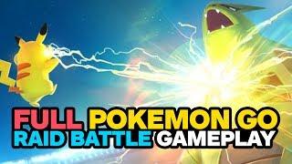 Download Pokemon Go: Raid Battle Gameplay and Boss Capture Video