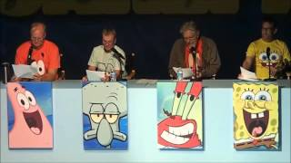 Download SpongeBob: Live Read of Help Wanted, Sept 7, 2013 FULL EVENT Video