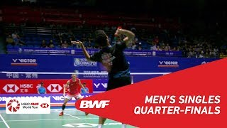 Download QF   MS   Anthony Sinisuka GINTING (INA) vs CHEN Long (CHN) [6]   BWF 2018 Video
