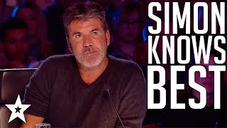 Download Top 10 Simon Cowell's I Know Best Moments on Got Talent Global Video