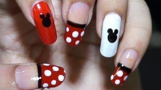 Download Nail Art at Home - Easy & Cool Mickey Mouse design in steps Video