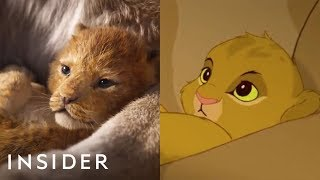 Download A Breakdown Of The New 'The Lion King' Teaser Compared To The Original Video