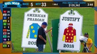 Download Justify Retirement Parade at Del Mar 7 28 18 Video