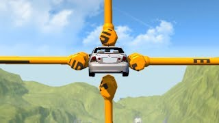 Download Beamng drive - Barely Possible car Stunts Video