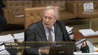 Download Pleno - Mantida condenação do senador Acir Gurgacz (2/2) Video