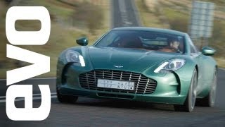 Download Aston Martin One-77 drive - evo Diaries world exclusive review Video