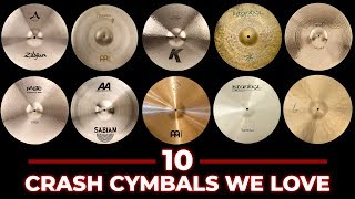 Download 10 Crash Cymbals Compared - Which is Best For You? Video