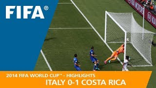 Download ITALY v COSTA RICA (0:1) - 2014 FIFA World Cup™ Video