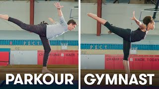 Download Parkour Experts Try to Keep Up With Gymnasts | SELF Video