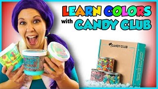 Download Learn Colors with Candy | Candy Club Unboxing and Taste Test Video