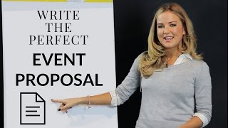 Download Write the Perfect Event Proposal Video