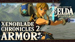 Download The Legend of Zelda: Breath of the Wild - Salvager Set (Xenoblade Chronicles 2) Part 70 Video