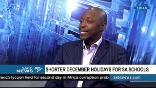 Download Shorter December holidays for SA schools - Elijah Mhlanga Video