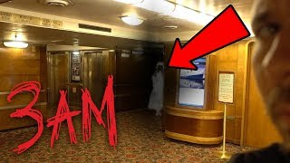 Download HAUNTED QUEEN MARY SHIP AT 3AM - Ghost Hunting In A Haunted Ship! | OmarGoshTV Video