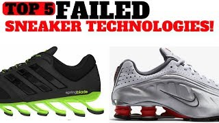 Download Top 5 FAILED Sneaker Cushioning Technologies! Video