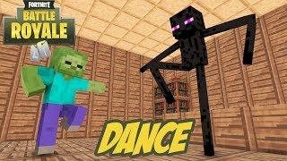 Download Monster School : Fortnite Dance Challenge - Minecraft Animation Video