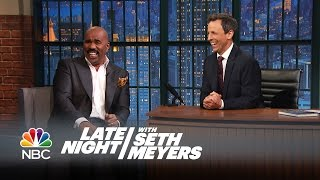 Download Steve Harvey's Favorite Bad Family Feud Answers - Late Night with Seth Meyers Video