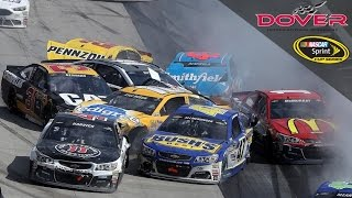 Download Monster-sized wreck collects 18 cars at Dover Video