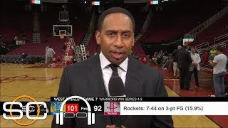 Download Stephen A. on Warriors' Game 7 win: Rockets 'missed CP3, it's just that simple' | SC with SVP | ESPN Video