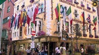 Download IRLAND - Dublin ″Hauptstadt - Sightseeing in Dublin von Molly Malone bis Temple Bar″ IRELAND Video