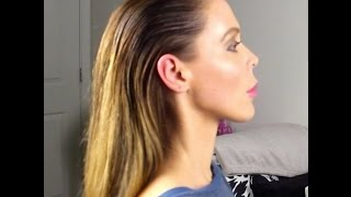 Download Easy Wet Hair Look Tutorial!! Video