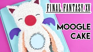 Download How to Make a Final Fantasy Moogle Cake! Video