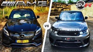 Download Range Rover Sport SVR vs Mercedes AMG GLE 63 S HEAD to HEAD Video