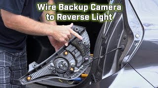 Download Back up Camera Wiring - How to wire to the brake light Video