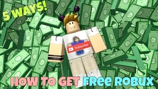 Download 5 Ways To Get Free Robux on ROBLOX Video