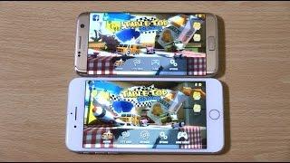 Download iPhone 7 Plus vs Samsung Galaxy S7 Edge - Gaming Comparison! Video
