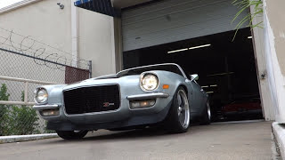 Download 1970 1/2 Chevrolet Camaro Z/28 muscle car Video