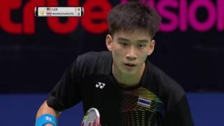 Download Princess Sirivannavari Thailand Masters 2017 | Badminton SF M3-MS | Lee Zii Jia vs K. Wangcharoen Video