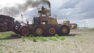 Download BigIron Melroe M870 Buffalo Coal Dozer Video