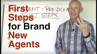 Download FIRST STEPS FOR BRAND NEW REAL ESTATE AGENTS - KEVIN WARD Video