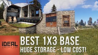 Download Rust • Best 1x3 Base • Solo Dream (Most Compact Starter Base v3) Video