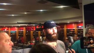 Download Phillies right-hander Jake Arrieta discusses his performance in win over Braves Video