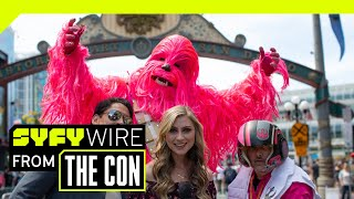Download VR180 | 180° Cosplay Dance-Off | SAN DIEGO COMIC CON 2018 | SYFY WIRE Video