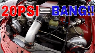 Download Twin Turbo On A STOCK LS2 GTO Hits 20PSI!!!! Video
